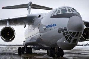 Máy bay vận tải Il-76MD-90A của Nga lại chậm tiến độ