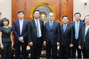 Tập đoàn Urbaser mong muốn hợp tác với TPHCM về vấn đề xử lý rác thải