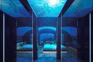 Choáng váng khách sạn dưới biển 1 tỷ/đêm siêu sang chảnh