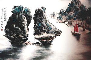 Hồn cốt cội nguồn trong tranh thủy mặc Lý Tùng Niên