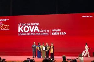 3 công trình khoa học ứng dụng được vinh danh tại Giải thưởng KOVA