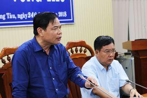 Bộ trưởng Nguyễn Xuân Cường: 'Trực xuyên đêm để ứng phó bão số 9'