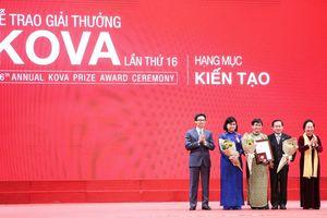 Trao giải thưởng KOVA 2018