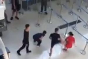 Thanh Hóa: Nữ nhân viên hàng không bị đánh, đạp tại sân bay