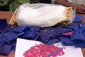 Nghệ An bắt 1 kg ma túy đá và 1.000 viên hồng phiến