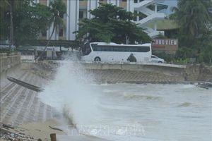Thông tin mới nhất về các địa phương ứng phó với bão số 9
