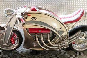 Chiêm ngưỡng tuyệt phẩm môtô Levis V6 Cafe Racer