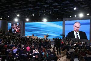 Ông Putin sẽ tổ chức họp báo lớn vào cuối tháng 12