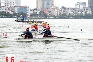 Đoàn Hà Nội bảo vệ thành công ngôi vị dẫn đầu môn Rowing