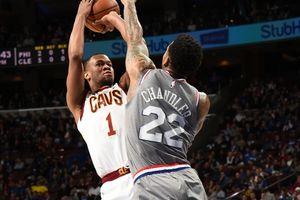 Cleveland Cavaliers thay đổi sau khi đối đầu với LeBron James, Philadelphia 76ers thua đau trên sân nhà