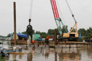 Gần 400 tỷ đồng xây dựng cống âu thuyền Ninh Quới