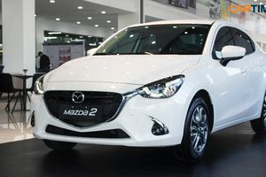 Chi tiết Mazda2 phiên bản facelift tại đại lý, sẵn sàng ra mắt