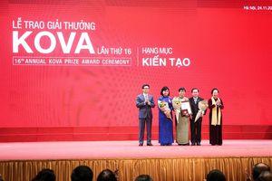Phó Thủ tướng Vũ Đức Đam dự và trao giải thưởng Kova lần thứ 16