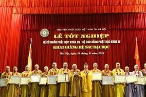 Học viện Phật giáo Việt Nam khai giảng khóa đầu tiên hệ sau Đại học