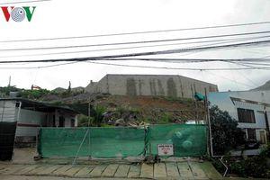 Khánh Hòa: Tạm đình chỉ thi công dự án Marina Hill để tránh sạt lở