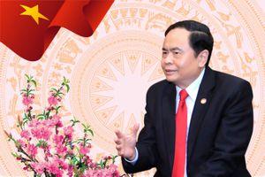 Đoàn cấp cao UBTƯ MTTQ Việt Nam thăm hữu nghị CHND Trung Hoa