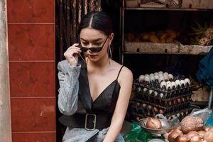 Phạm Quỳnh Anh mặc phá cách hậu ly hôn