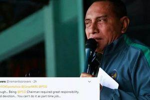 CĐV Indonesia nài nỉ Malaysia nhận Chủ tịch LĐBĐ nước nhà