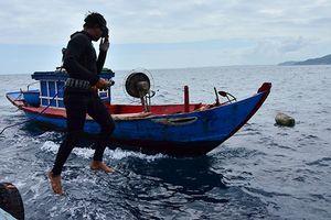 Rủi ro nghề lặn biển