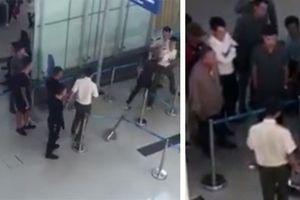 Côn đồ quậy sân bay, an ninh phản ứng 'quá hiền'