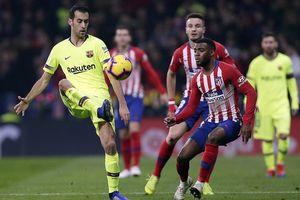 Atletico 1-1 Barcelona: Cứu tinh Dembele