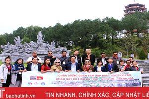 Đoàn Famtrip các tỉnh Đông Bắc Thái Lan khảo sát du lịch tại Hà Tĩnh