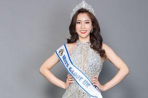 Người đẹp gốc Việt Stella Đào tham dự cuộc thi Hoa hậu hoàn cầu tại Trung Quốc
