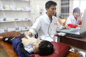Khoảng 800 người dân Hà Tĩnh được khám sàng lọc tim mạch miễn phí