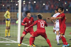 Tuyển Việt Nam vào bán kết với ngôi đầu và thiết lập kỷ lục mới ở AFF Cup