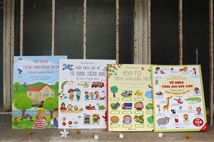Bộ sách học tiếng Anh chuẩn Usborne giúp trẻ học 1.000 từ tiếng Anh dễ dàng