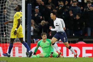 Chelsea nhận thất bại đầu tiên trước Tottenham
