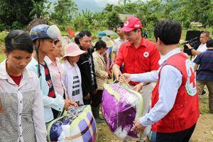 Chi hội Tán trợ Chữ thập đỏ Tình Người chung tay vì người nghèo