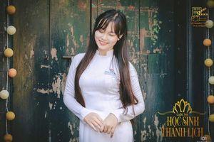 Xúng xính áo dài đi thi Hoa Khôi Sinh Viên Việt Nam 2018, nữ sinh Huế gây 'thương nhớ' bởi vẻ đẹp thuần khiết