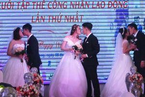 Đà Nẵng hỗ trợ phòng tân hôn 3 sao cho các đôi uyên ương trong lễ cưới tập thể