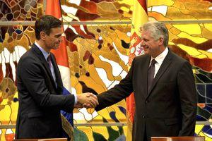 Thủ tướng Tây Ban Nha thăm Cuba: Bước tiến lịch sử