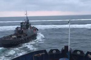 Nga nổ súng, bắt giữ các tàu Ukranie vi phạm lãnh hải