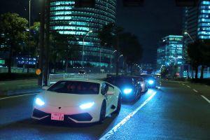 Ngày hội Lamborghini nhiều màu sắc tại Nhật Bản