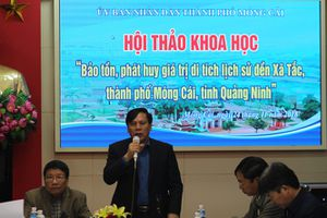 Hội thảo khoa học 'Bảo tồn, phát huy giá trị di tích lịch sử đền Xã Tắc'
