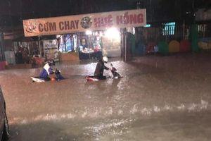 Bão số 9 suy yếu, Nam Bộ mưa to 30-100mm