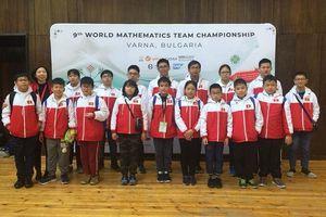 Việt Nam thắng lớn tại kì thi Vô địch các đội tuyển Toán thế giới
