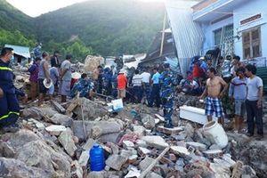 Hỗ trợ các gia đình có người chết do sạt lở núi