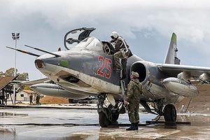 Máy bay Nga không kích nhóm khủng bố dùng pháo chứa clo ở Syria