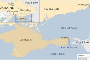 Căng thẳng Nga - Ukraine: Nga bắt giữ 3 tàu hải quân Ukraine trên Biển Đen