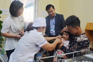 Hà Nội: Đồng loạt tiêm bổ sung vắc xin sởi - rubella cho hơn 600.000 trẻ