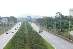 Dự án cao tốc Hà Nội - Thái Nguyên hơn 10.000 tỷ đồng bị lún