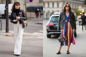 Trọn bộ bí kíp 7 cách 'biến hóa' với áo da cực trendy cho cả tuần