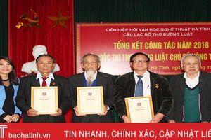 700 bài thơ của 217 tác giả dự thi thơ Đường luật viết về nông thôn mới
