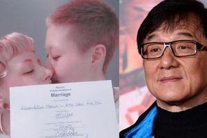 Con rơi của Thành Long thừa nhận kết hôn với bạn gái đồng tính hơn 12 tuổi