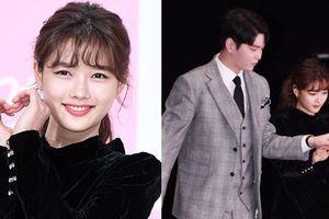 Kim Yoo Jung bỗng bé xíu khi sánh đôi bên bạn diễn cao 1m9
