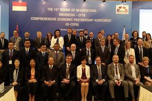 Indonesia và EFTA cam kết hoàn tất thương lượng trong năm nay